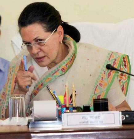 ਕਾਂਗਰਸ ਦੀ ਪ੍ਰਧਾਨ ਸ੍ਰੀਮਤੀ ਸੋਨੀਆ ਗਾਂਧੀ (Sonia Gandhi)
